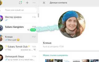 Как переслать контакт в WhatsApp — проверенные варианты