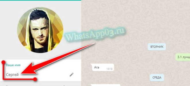 Как поменять свое имя в WhatsApp, как подобрать необычный ник