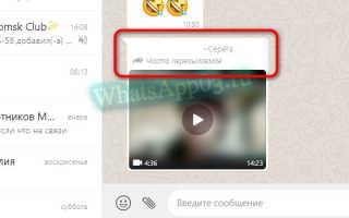 Что такое часто пересылаемое сообщение в WhatsApp — инструкция