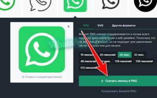 Как найти значок WhatsApp с прозрачным фоном и скачать его бесплатно