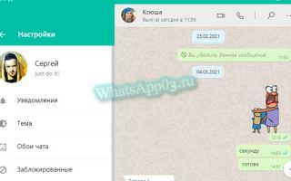 Настройка WhatsApp в телефоне, как настроить мессенджер