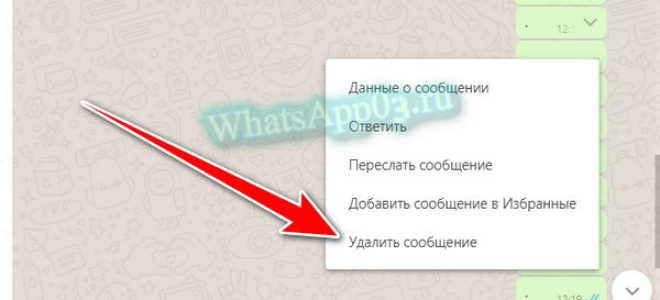 Как почистить переписку в WhatsApp и стереть ненужные сообщения