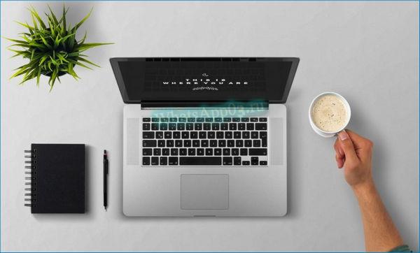 Logo компьютер на столе